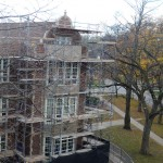 School masonry restoration