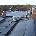 School roof replaced with fully adhered EPDM